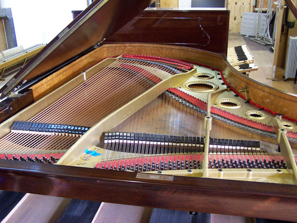 Original condition of the piano