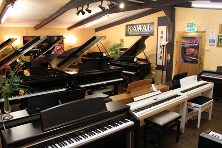 Vale Pianos Showrooms